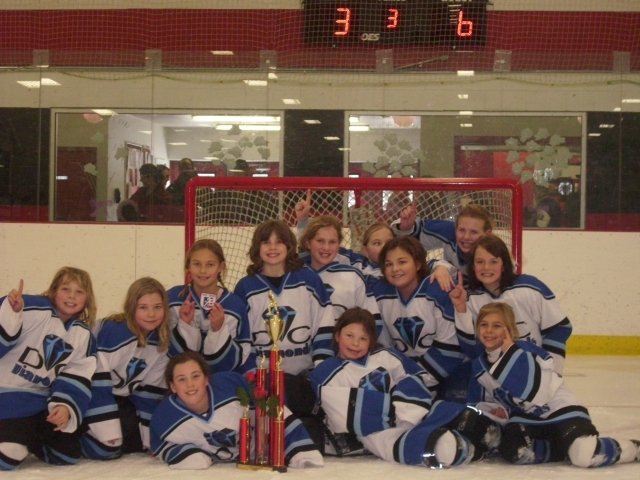 2009-2010 DC Diamonds U10 Team